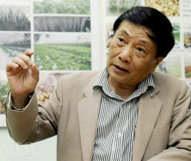GS.TS Nguyễn Quang Thạch. Ảnh: TTXVN