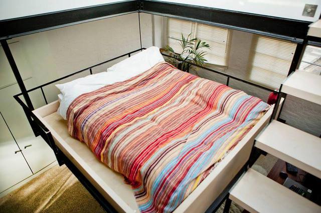Chiếc giường đặc biệt này có lẽ sẽ khiến cho một số người cảm giác sợ hãi, nhưng nó lại là nơi lý tưởng cho những ai thích cảm giác mới lạ.