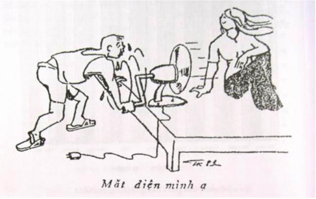 Cơ bắp hoá quạt điện (Báo Văn nghệ ngày 22/8/1981)