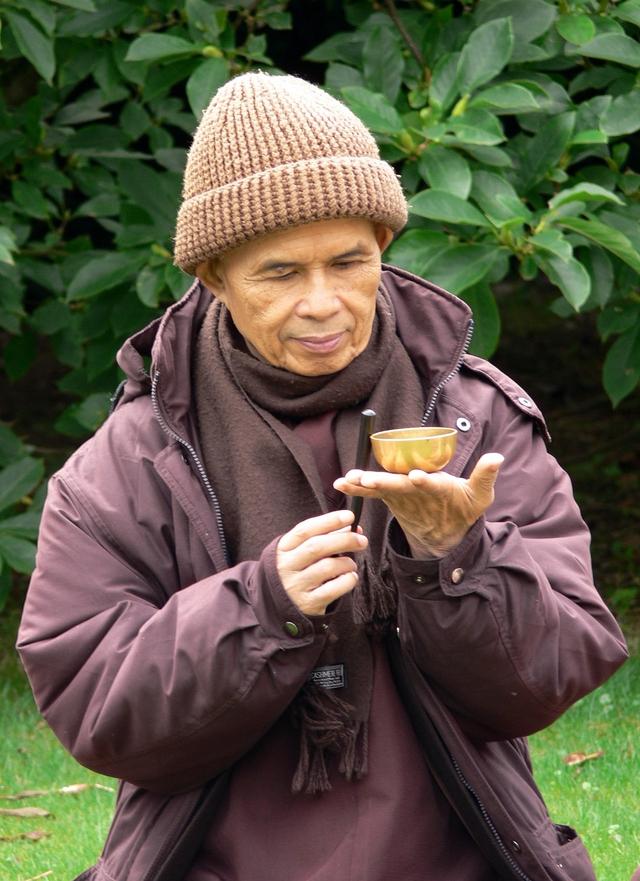 Thiền sư Thích Nhất Hạnh.