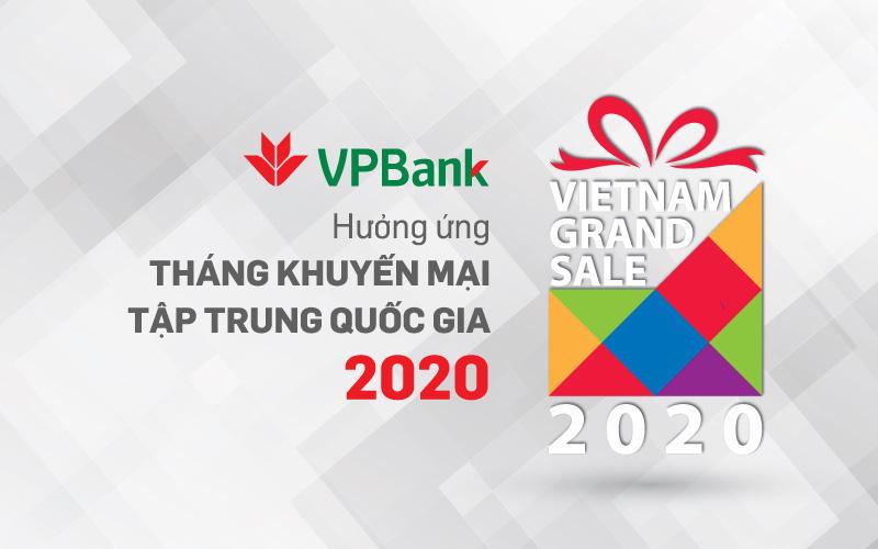 """""""Ăn thỏa thích - Chơi hết mình"""" cho chủ thẻ VPBank trong Vietnam Grand Sale 2020"""