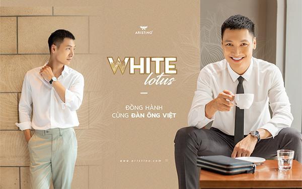 """Aristino """"dệt"""" biểu tượng Việt Nam trên áo sơ mi trắng"""