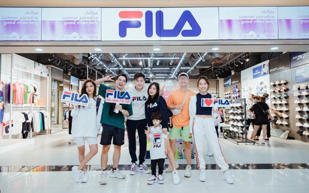FILA mở cửa hàng tại Hà Nội, thỏa mãn khát khao thời trang đường phố của giới trẻ Hà Thành