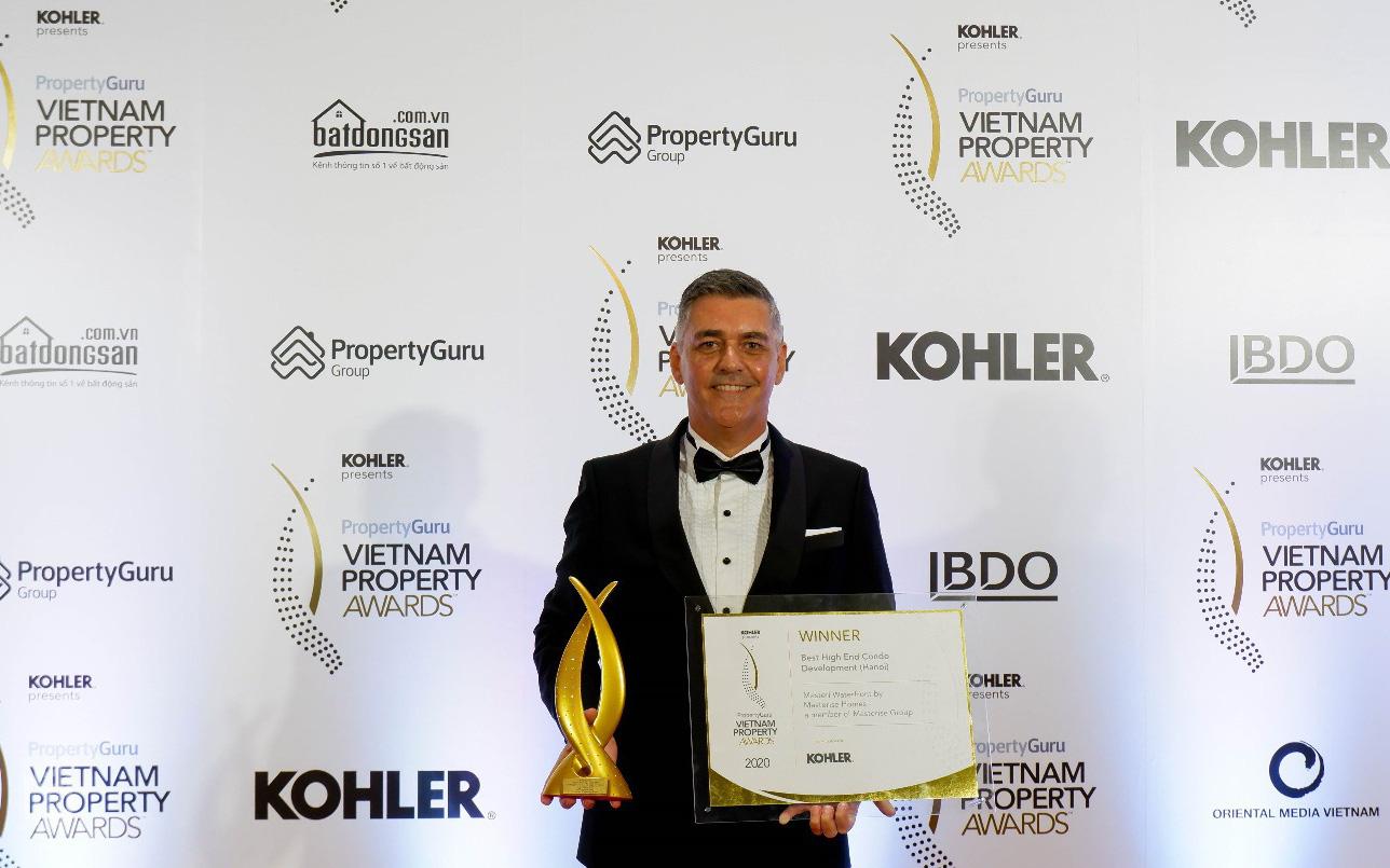 Masterise Homes chiến thắng 8 giải thưởng tại PropertyGuru Vietnam Property Awards 2020