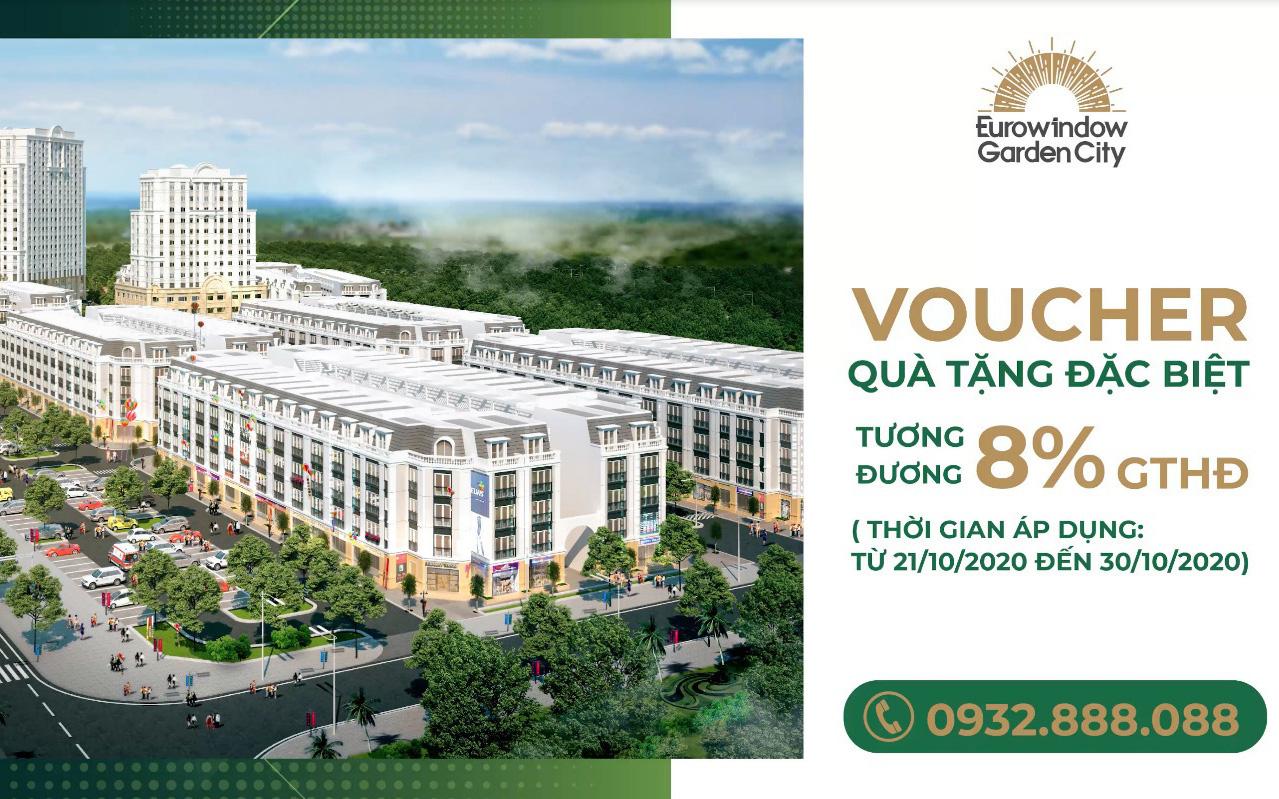 Ngập tràn ưu đãi cho khách hàng mua nhà tại Eurowindow Garden City