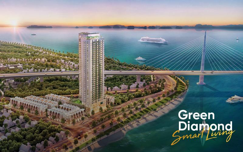 Green Diamond Smart Living: Xu hướng sống thời thượng đã xuất hiện tại Hạ Long