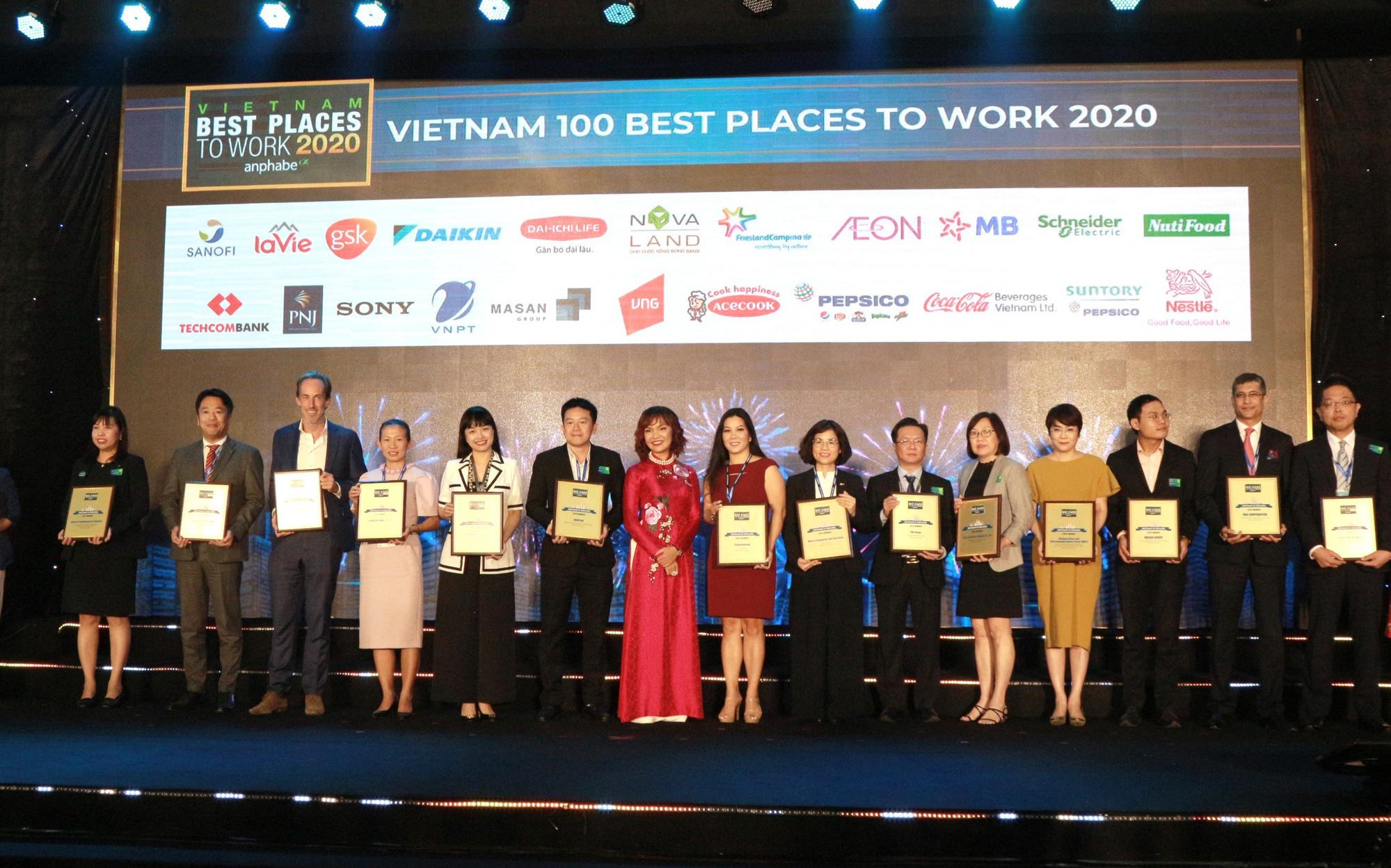 AEON Việt Nam tăng 52 bậc trong top 100 nơi làm việc tốt nhất Việt Nam