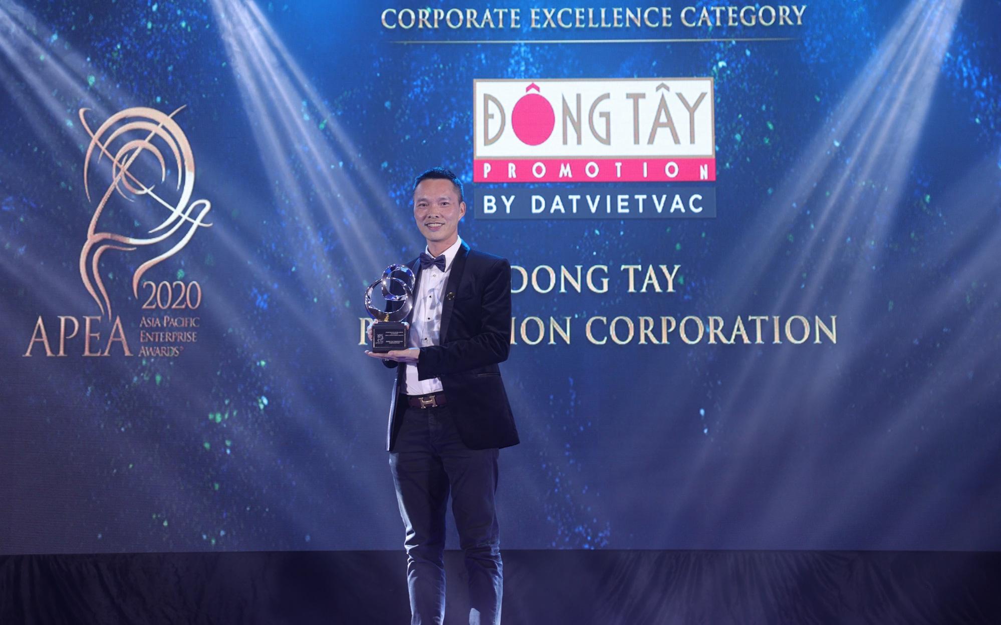 """""""Ông lớn"""" ngành TV Show Việt là doanh nghiệp xuất sắc Châu Á 2020"""