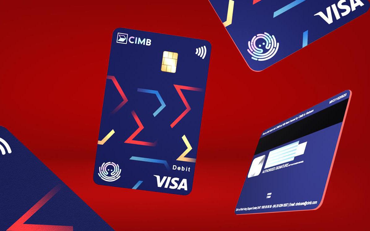 Thẻ ghi nợ CIMB Visa Debit ghi điểm với diện mạo mới cùng tính năng thanh toán chạm