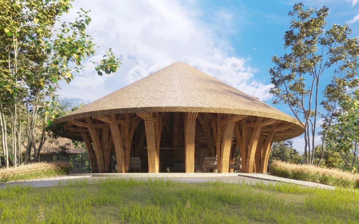 Hồn dân tộc trong ngôi Nhà tre lớn bậc nhất Đông Nam Á tại Vedana Resort