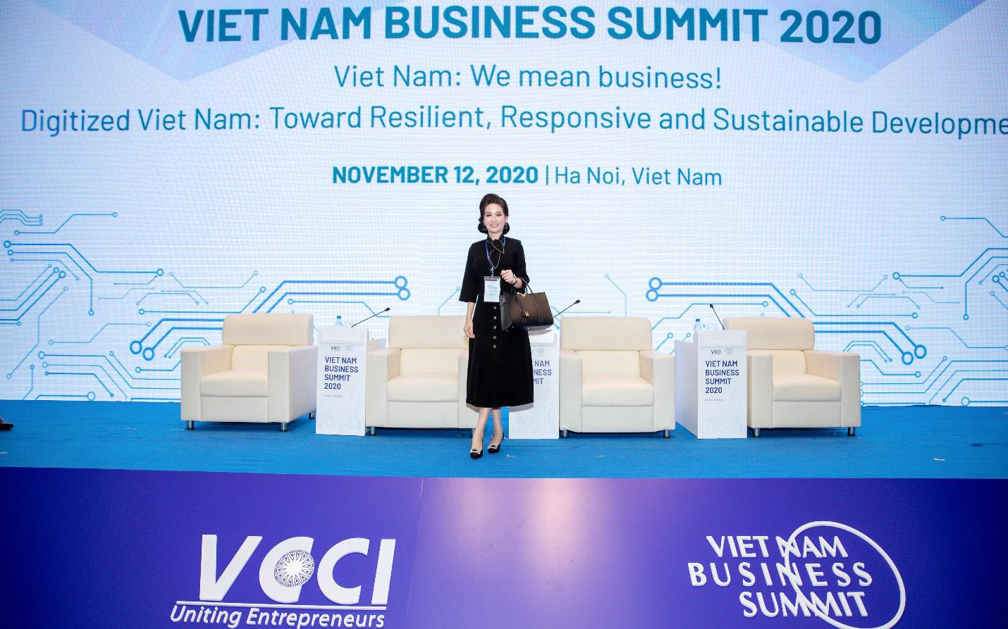 Doanh nhân Võ Thị Ngọc Huyền tham dự Hội nghị Thượng đỉnh Kinh doanh và Đầu tư ASIAN 2020