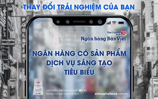 Ngân hàng có sản phẩm, dịch vụ sáng tạo tiêu biểu 2020 - dấu ấn mới trong chuyển đổi số của Ngân hàng Bản Việt