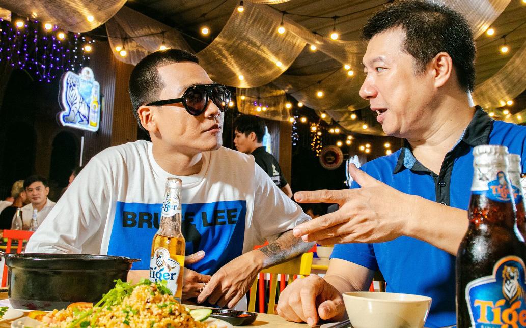 Bình luận viên Quang Huy và bản lĩnh khiến lão đại làng rap Việt Wowy phải ngả mũ