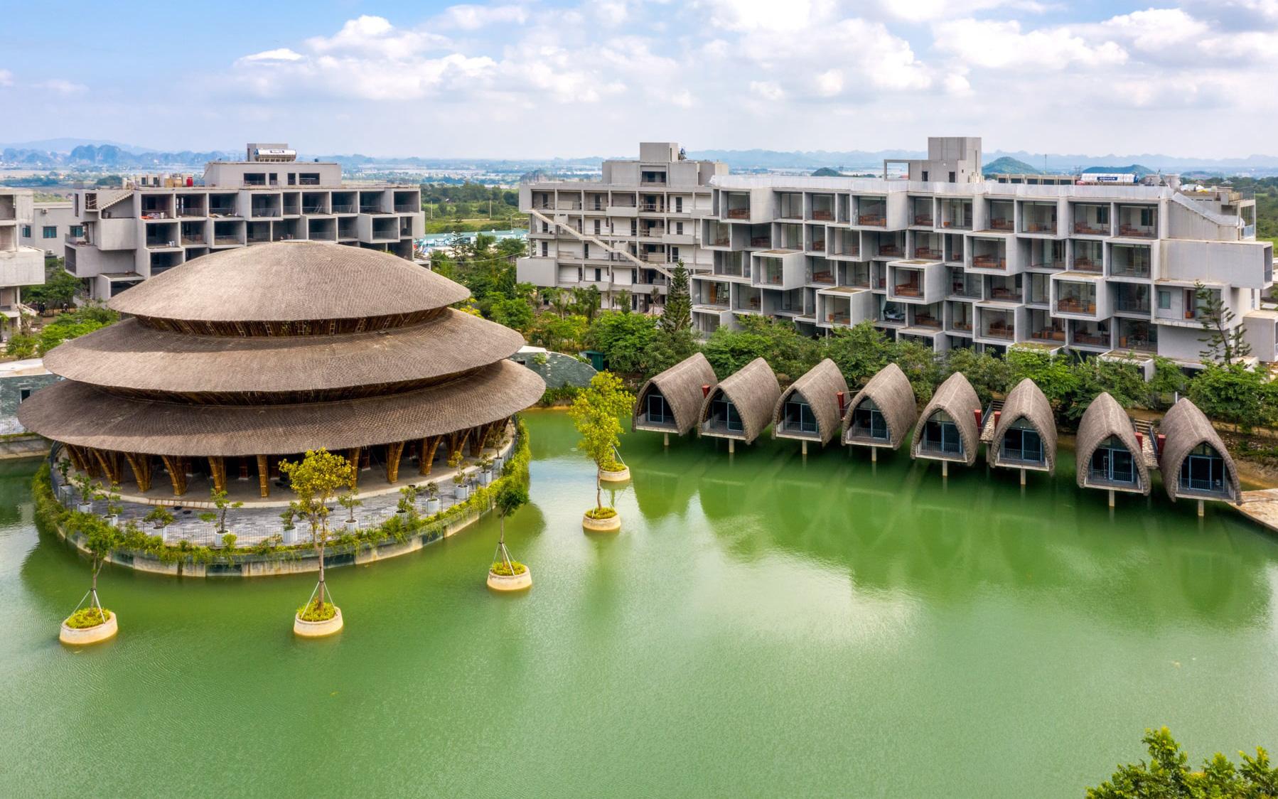 Sự kiện ra mắt biệt thự mẫu Vedana Resort gây ấn tượng bởi quy mô và chuyên nghiệp