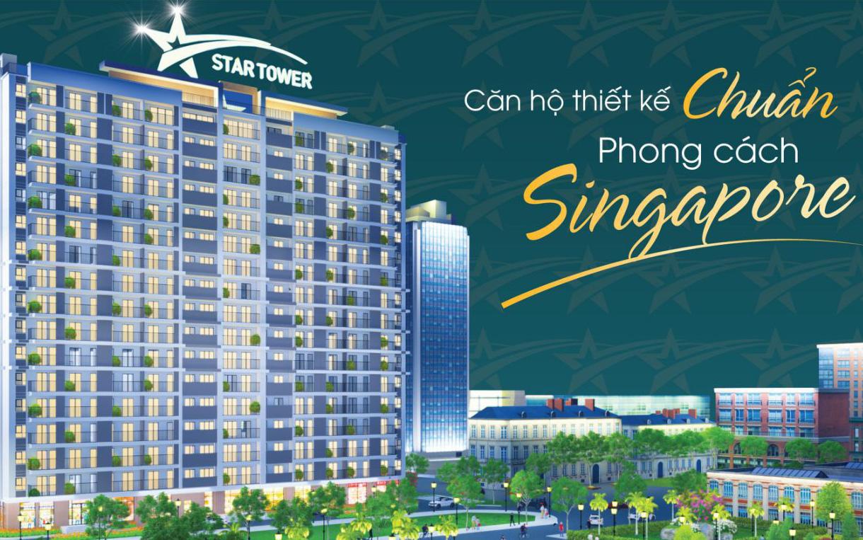 VietStar Holdings lấn sân đầu tư xây dựng 300 căn hộ phong cách Singapore tại Thuận An.