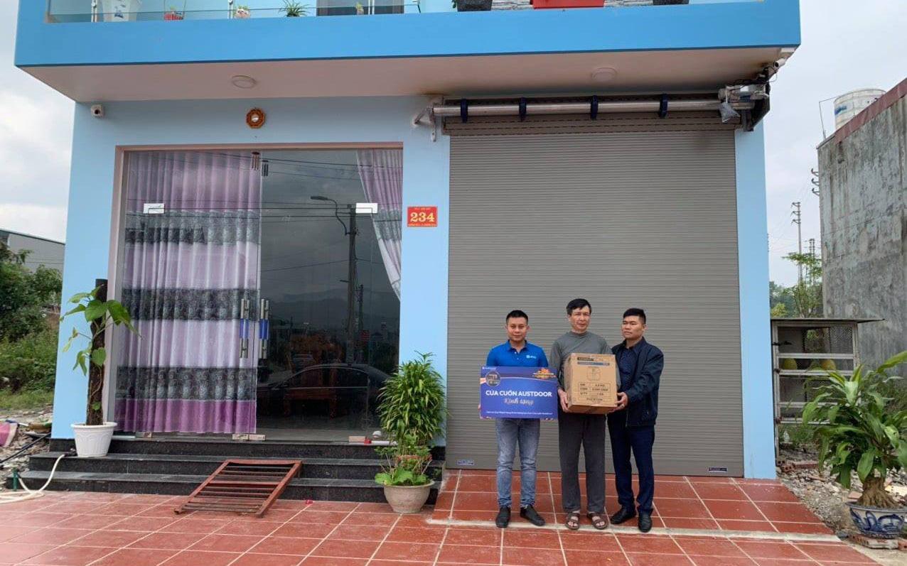 Cửa cuốn Austdoor tri ân khách hàng dịp Tết Tân Sửu 2021