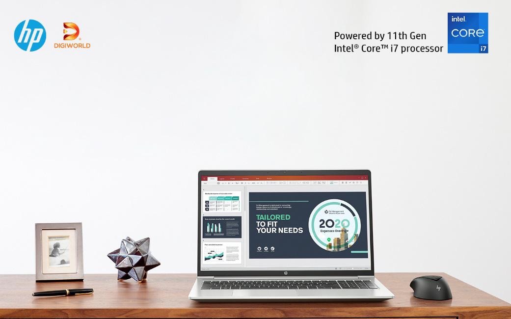 """Probook 450 G8 như """"hổ thêm cánh"""" với 11th Gen Intel® Core™ i7 Processor"""