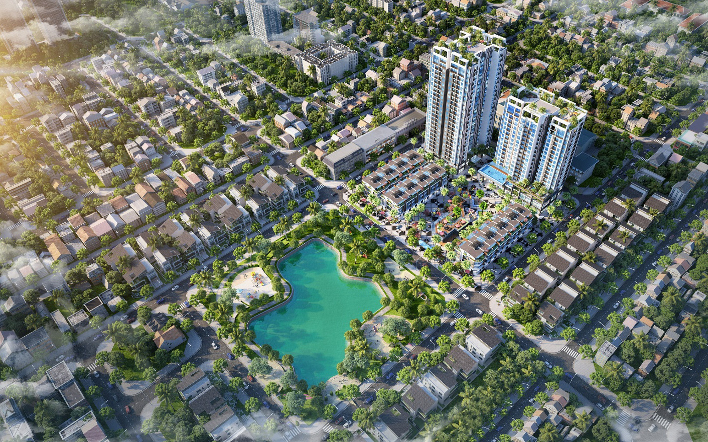 """Hé lộ dự án """"nghìn tỷ"""" sắp ra mắt tại vị trí trung tâm TP Bắc Giang"""