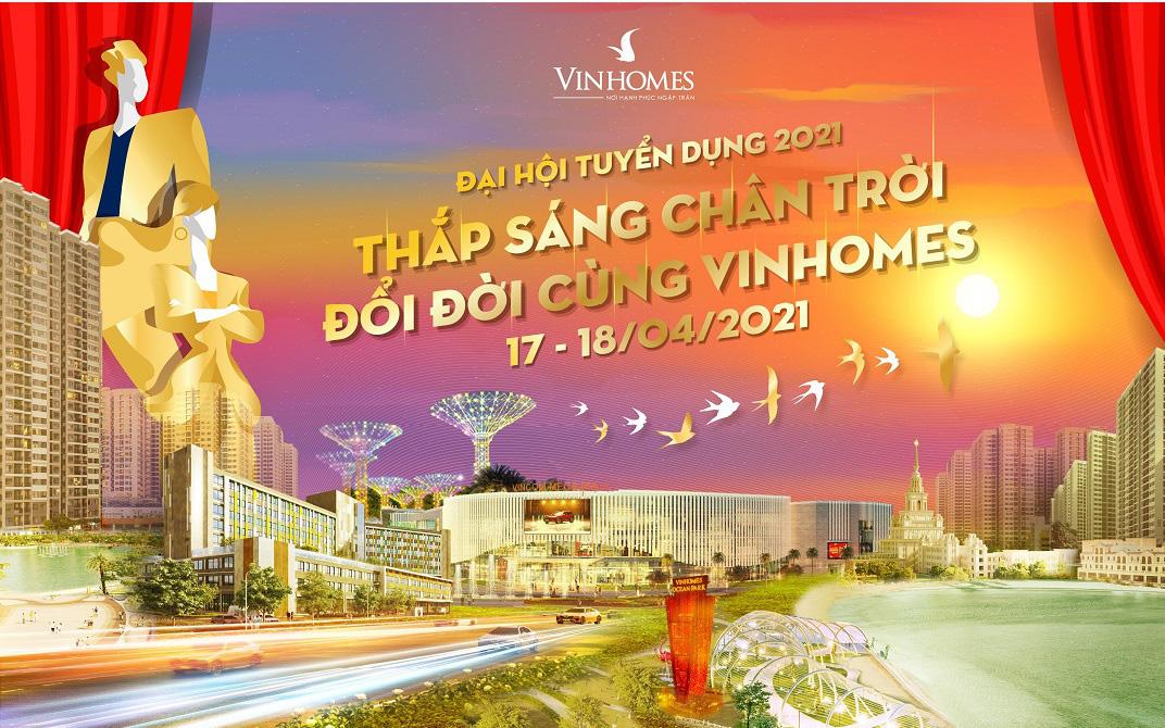 Vinhomes tổ chức sự kiện tuyển dụng với nhiều cơ hội việc làm hấp dẫn