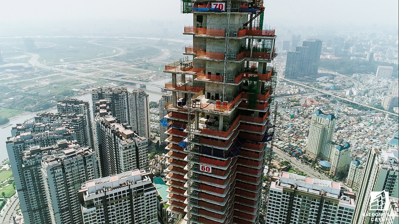 Những hình ảnh mới nhất về tòa nhà cao nhất Việt Nam trước ngày cất nóc - Ảnh 3.