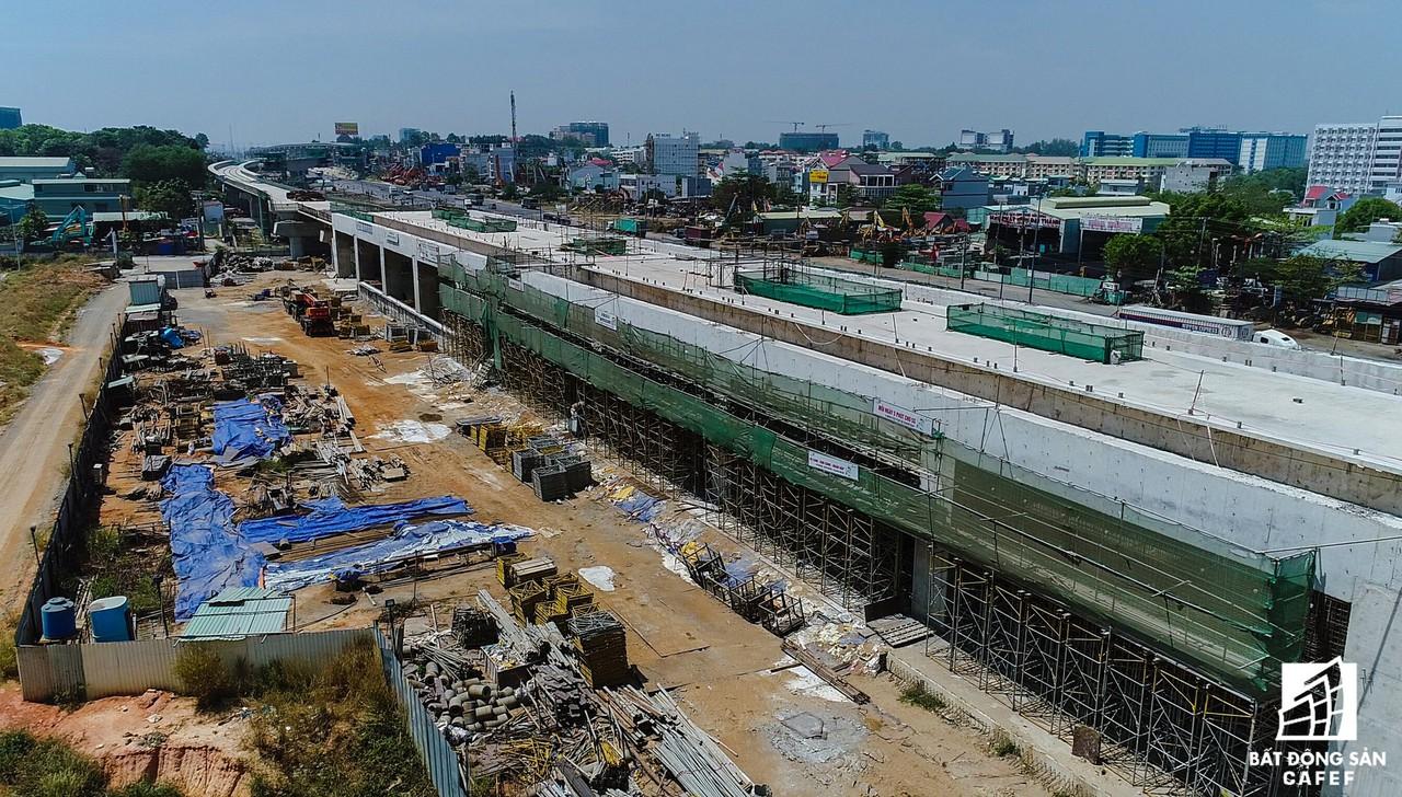 Toàn cảnh 20km tuyến đường sắt metro số 1 Bến Thành - Suối Tiên đang dần thành hình - Ảnh 11.