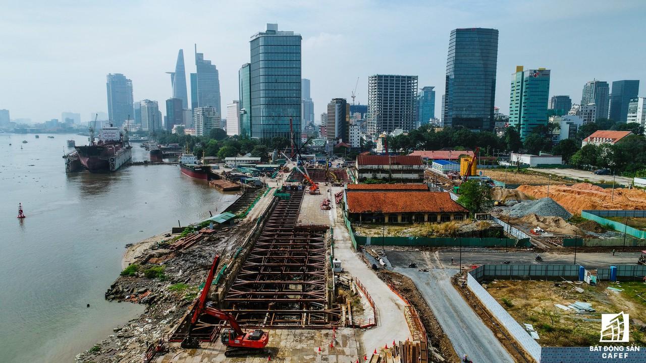 Toàn cảnh 20km tuyến đường sắt metro số 1 Bến Thành - Suối Tiên đang dần thành hình - Ảnh 4.