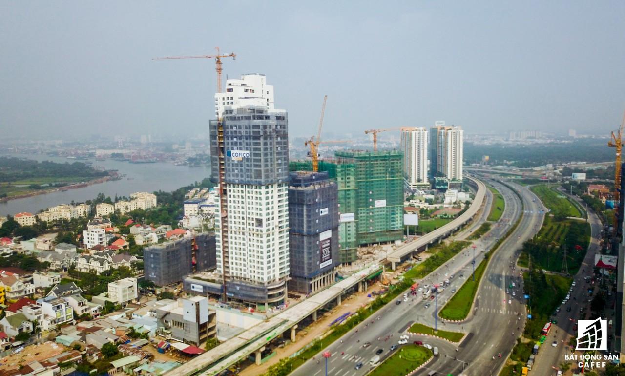 Toàn cảnh 20km tuyến đường sắt metro số 1 Bến Thành - Suối Tiên đang dần thành hình - Ảnh 8.