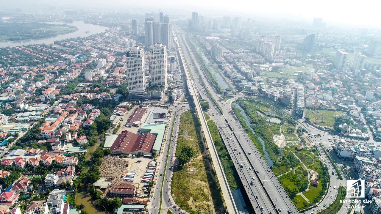 Toàn cảnh 20km tuyến đường sắt metro số 1 Bến Thành - Suối Tiên đang dần thành hình - Ảnh 7.