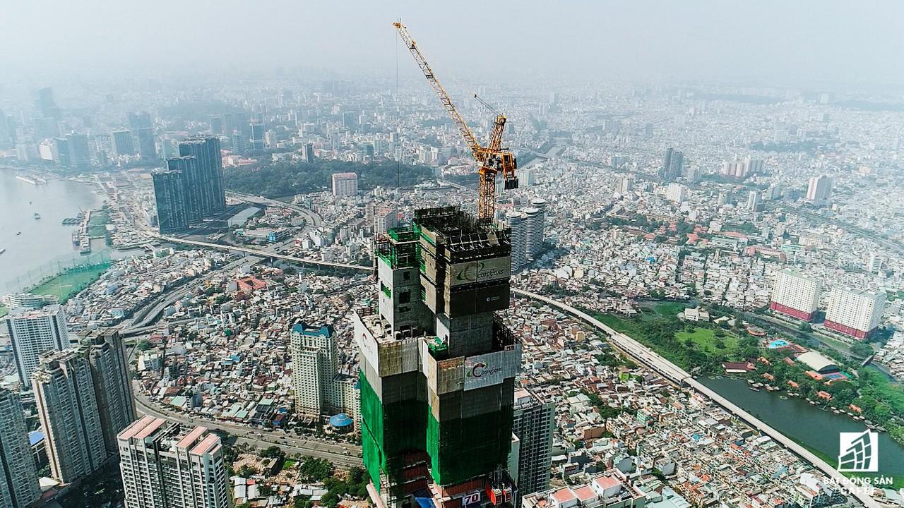 Những hình ảnh mới nhất về tòa nhà cao nhất Việt Nam trước ngày cất nóc - Ảnh 4.