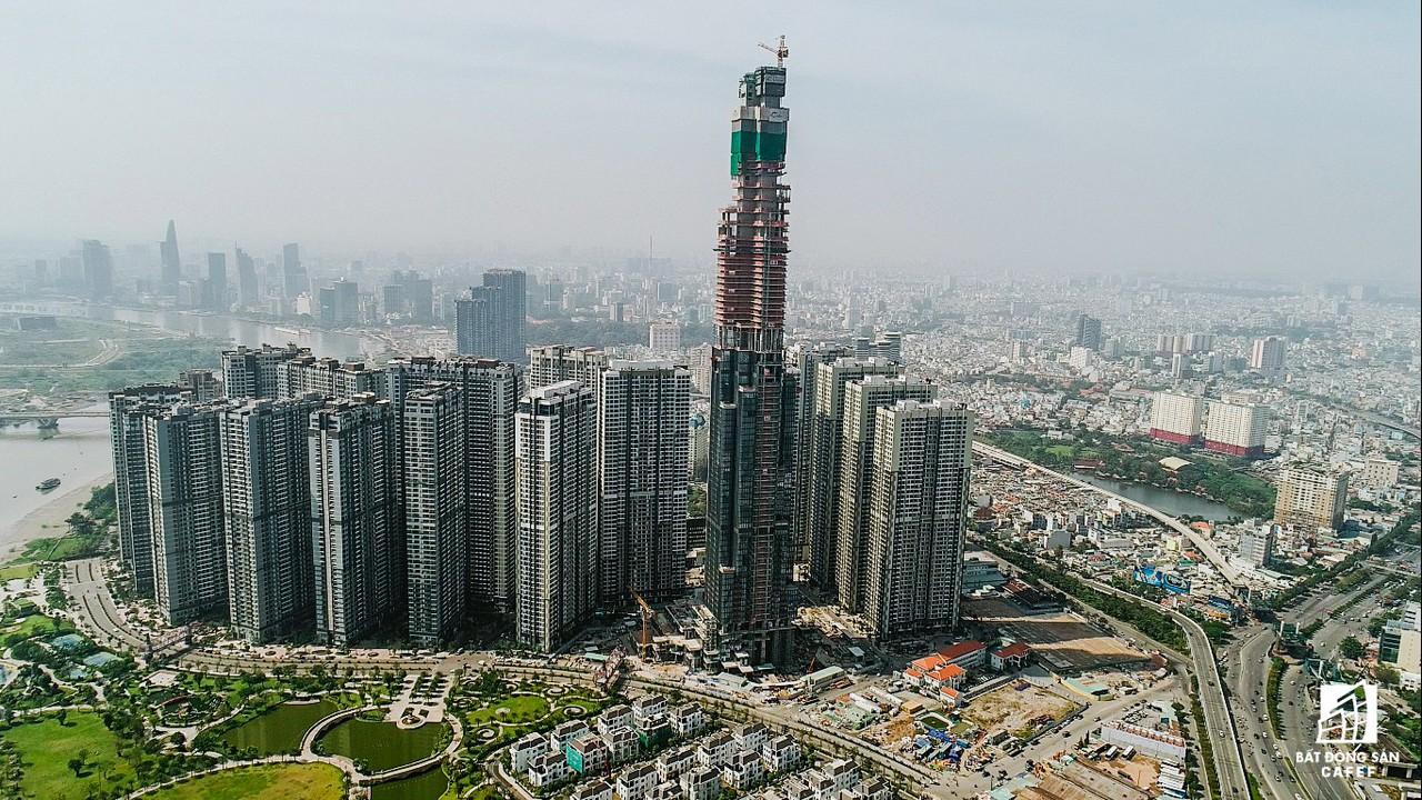 Những hình ảnh mới nhất về tòa nhà cao nhất Việt Nam trước ngày cất nóc - Ảnh 2.