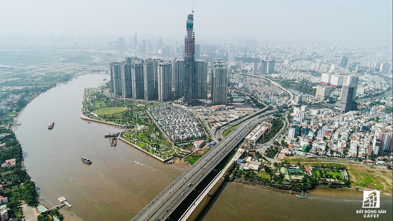 Những hình ảnh mới nhất về tòa nhà cao nhất Việt Nam trước ngày cất nóc - Ảnh 10.