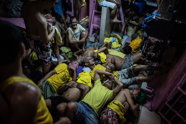Nhà tù trở nên quá tải sau các biện pháp mạnh tay với ma túy của chính quyền Duterte.