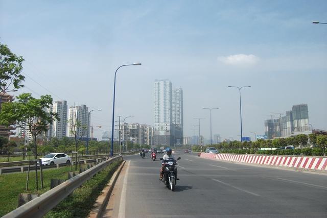 Hình dáng một đô thị hiện đại ở khu Đông.
