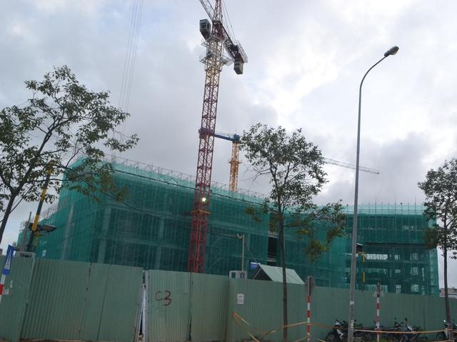 Dự án Vinmec Đà Nẵng nằm ngay nút giao thông trọng điểm của TP. Đà Nẵng. Hiện dự án đang thi công đến tầng thứ 6.