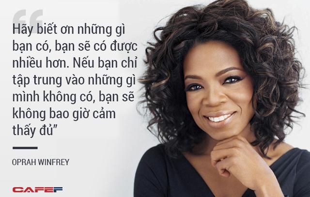 Người dẫn chương trình nổi tiếng Oprah Winfrey