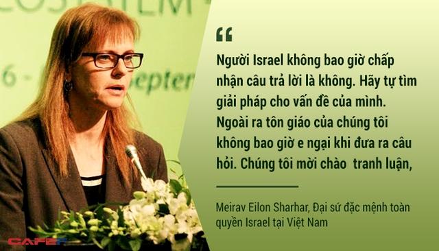 Không bao giờ nói Không chính là cách để người Israel làm được những điều không tưởng như là việc trồng cây, nuôi cá trên sa mạc