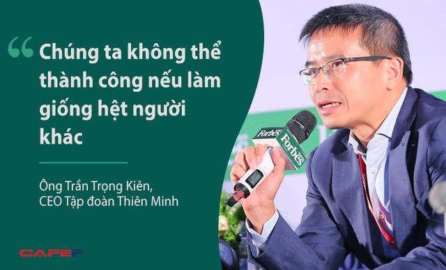 Ông Trần Trọng Kiên, CEO Tập đoàn Thiên Minh, nhấn mạnh khi đều cập tới vai trò sáng tạo trong công việc. Theo ông Kiên, sáng tạo ở Thiên Minh là công việc hàng ngày đồng thời cũng tạo ra những mô hình kinh doanh mới và hiệu quả.