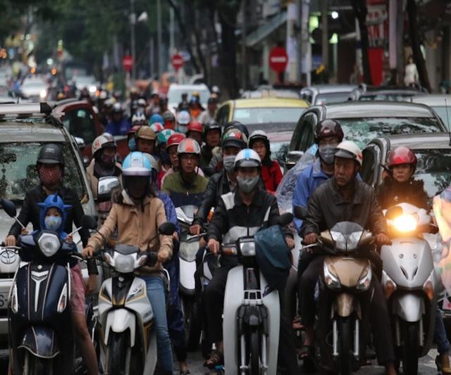 Cảnh kẹt xe thường thấy thời gian gần đây tại thành phố nghỉ dưỡng Đà Nẵng