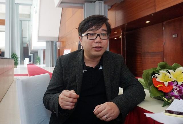 Ông Đỗ Hoài Nam chia sẻ về thất bại trong quá trình khởi nghiệp. Ảnh: Duy Minh