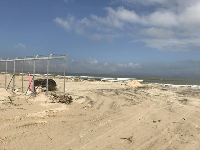 Dự án nằm trên bãi biển Cửa Đại