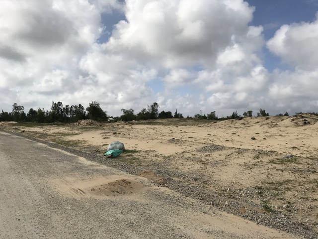 Phần đất xây dựng sân golf vẫn còn nguyên sơ, chưa được triển khai gì.