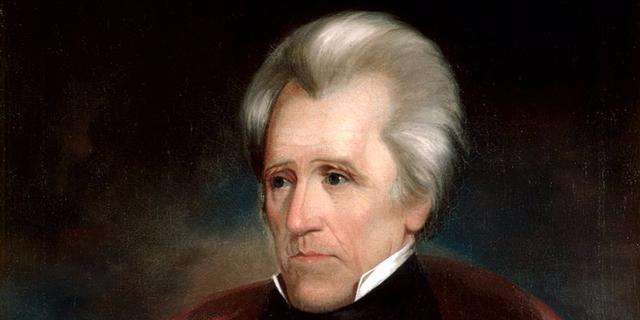 Năm 13 tuổi, Andrew Jackson làm liên lạc cho lực lượng dân quân trong cuộc Cách mạng Mỹ. Vị tổng thống thứ 7 của nước Mỹ bị kẻ thù chém vào mặt bằng kiếm và để lại sẹo.