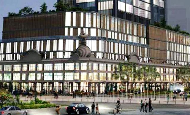 Phối cảnh tòa nhà mới sẽ được xây dựng trên nền thương xá Tax.