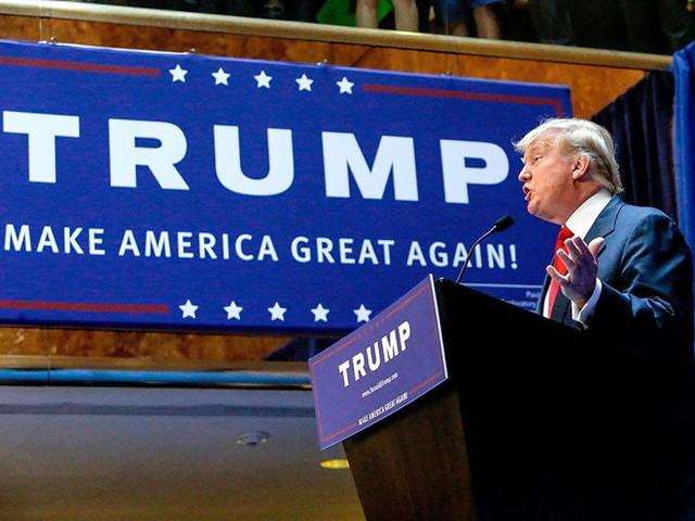 Khẩu hiệu Làm cho nước Mỹ vĩ đại trở lại trong chiến dịch tranh cử của Trump được nhiều người ưa thích. Ảnh: Pinterest.