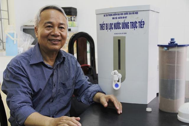 PGS, TS. Trần Hồng Côn (Ảnh: Thiên Bình - VNU Media)