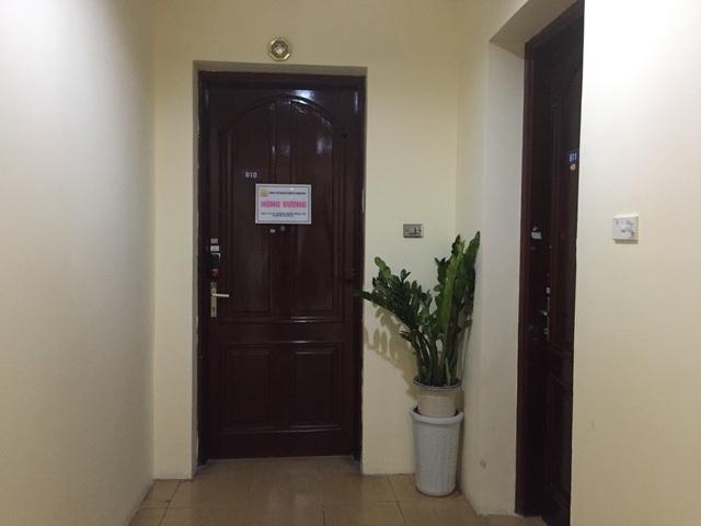 Trụ sở 1 công ty đặt tại phòng 616, tòa 18T1 Trung Hòa Nhân Chính.