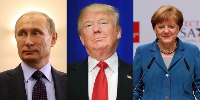 Ba nhân vật quyền lực nhất thế giới hiện nay, theo Forbes.