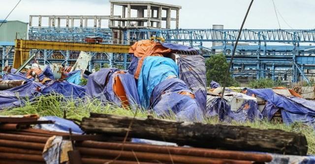 Dự án mở rộng Nhà máy gang thép Thái Nguyên đắp chiếu chờ nhà thầu Trung Quốc