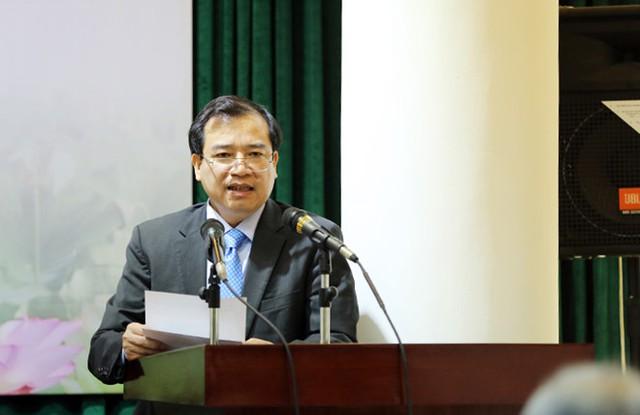 Phó Tổng cục trưởng Tổng cục Du lịch Hà Văn Siêu báo cáo tại Hội nghị