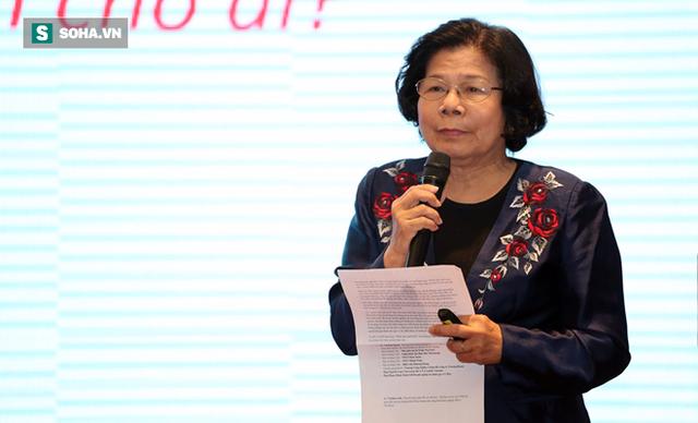 Bà Vũ Kim Hạnh – Tổng Giám đốc điều hành Trung tâm Nghiên cứu và bảo trợ doanh nghiệp BSA